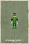 Super pixel Green Lantern