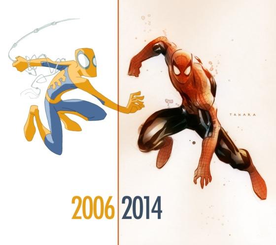 spider_man_2006_2014_by_marciotakara-d7leju6